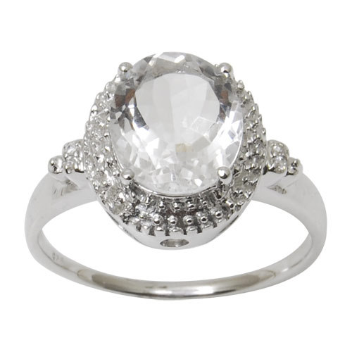 Birthstone rings wholesale CZ sterling silvre ring fancy silver ring