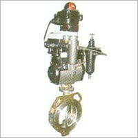 Spherical Disc Valve with Pneumatic Rotary Actuator