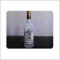 Protective Netting for Liquor Bottle