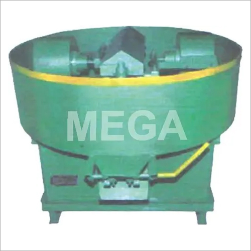 Pan Mixer With Heavy Roller For Fly - Ash Bricks