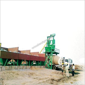 Inline Series Batching And Mixing Plant