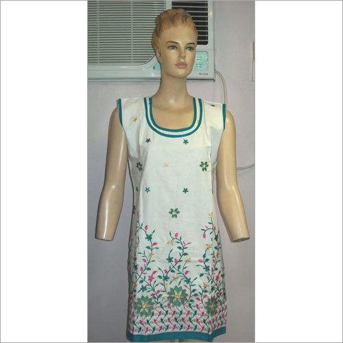 Cotton Embroidered Kurtis