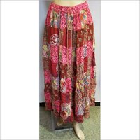 Cotton Printed Skirts