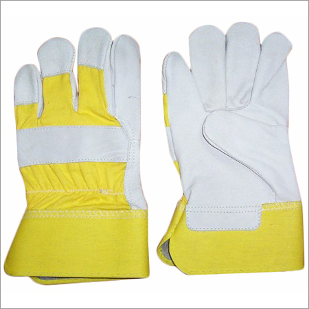Split Leather Palm Working Gloves