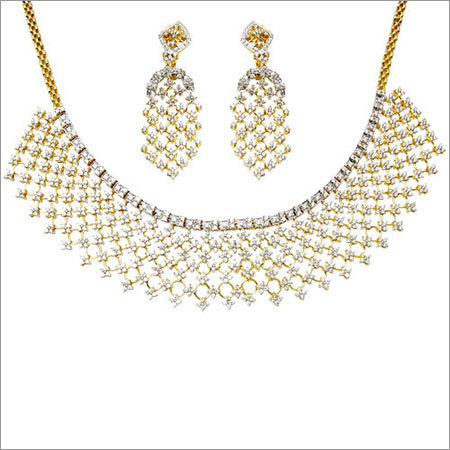 Diamond Necklace Wedding Set
