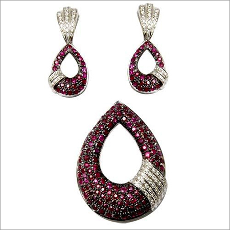 Diamond pendants designer pendant jewelry set micr