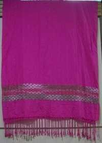 Cotton Printed Embroidery Shawls