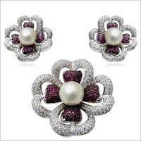 pearl ruby pendant design designer pendant in whi