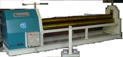 Pyramid Type Plate Rolling & Bending Machine