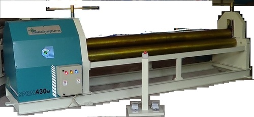 Pyramid Type Plate Rolling & Bending Machine
