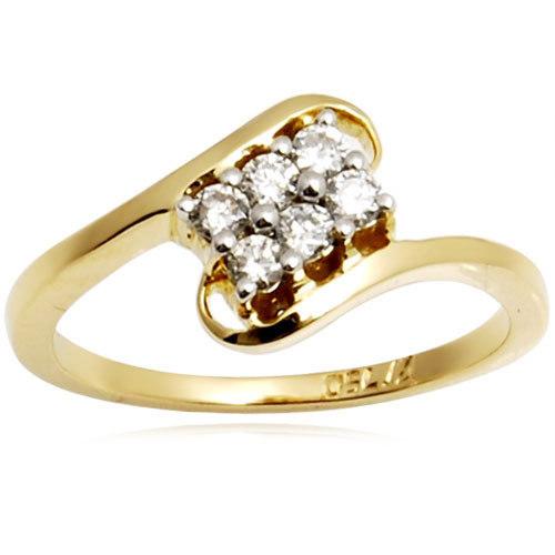Light Weight Diamonds Ring