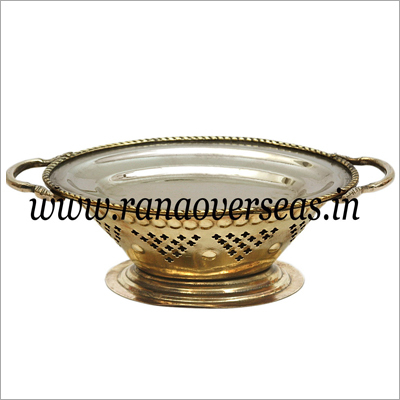 Brass Snacks Warmer