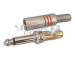 P-38 Mono Connector Full Metal with spring (Copper Plated)