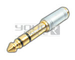 P-38 Stereo Male to EP Stereo Female Connector 3.5mm