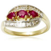 buggets diamond jewellery ruby diamond jewellery diamond ruby gold jewellery
