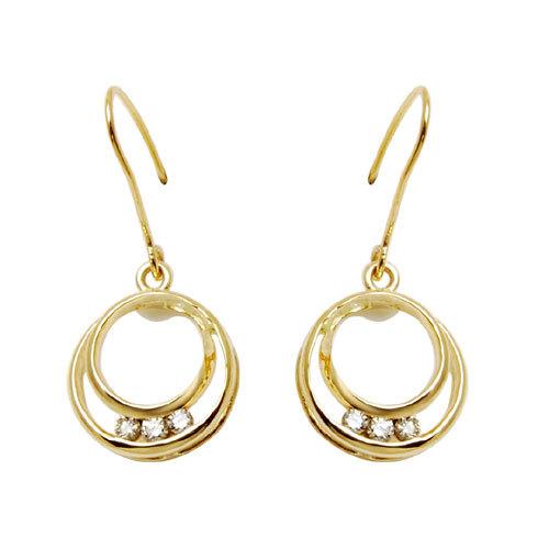 hoops earrings jewellery in gold, yellow gold jewellery, 18k jewellery designs online