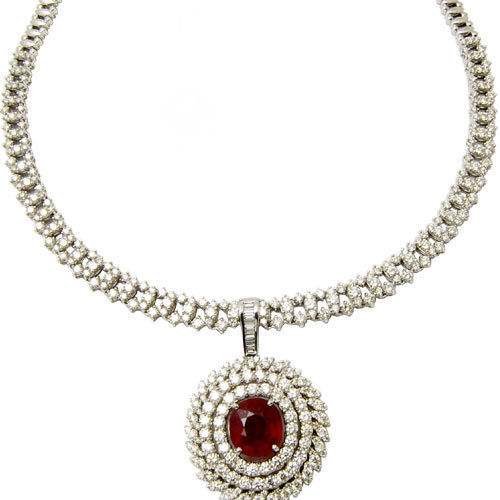 Bridal Jewelry In Ruby Manufacturer