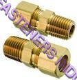 Brass Compression Male Connector