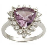 trillion shaped amethyst ring crown jewelry best jewelry design in 2012