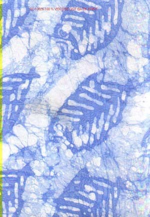 Viscose Chiffon Batik printed Scarves