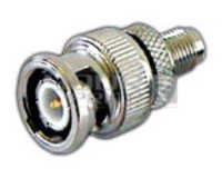 SMA Female to BNC Plug Connector