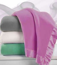 Satin Fleece Blanket