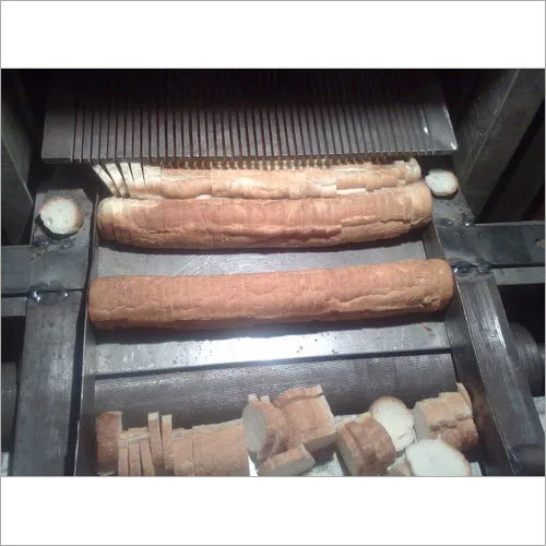 Stainless Steel Round Roll Toast Slicing Machine