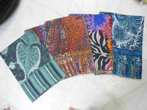 Kantha Work Shawls