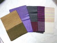 Pashmina With Designed Check Shawls