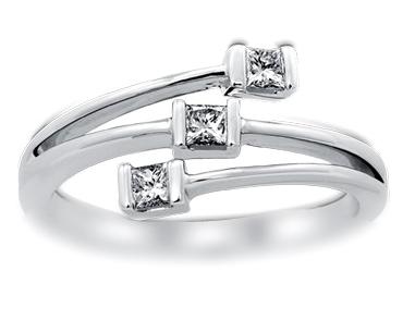 18K White Gold 0.22 ct total diamond weight Hamesh