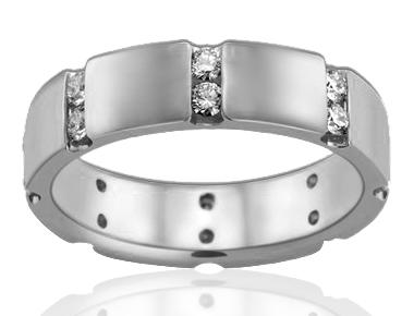 18K dimond  Gold 0.49 ct total diamond weight 2 Ro