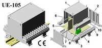 Din Rail Module Enclosure 112*88*110