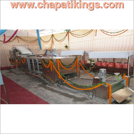 Automatic Chapati Making Machine Sheet Cutting Model