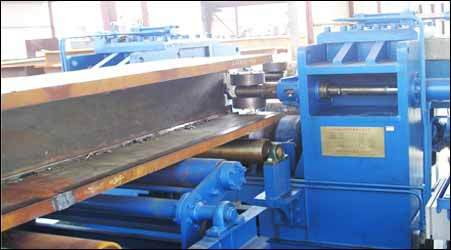 Double Cantilever / Gantery Type Saw Welding Machine