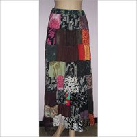 Cotton Printed ladies Skirts