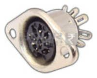 8 Pin Din Socket Connector Metal