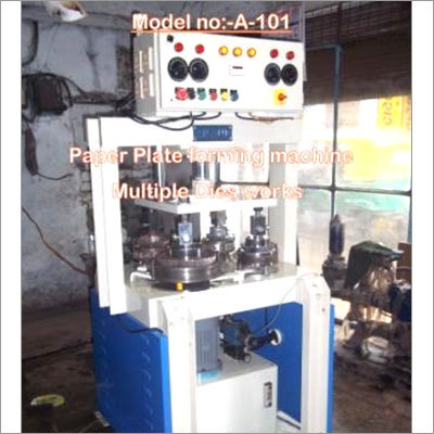 Digital Hydraulic Four Die Paper Making Machine