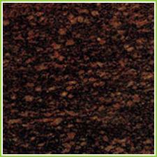 Black Polished Natural Granite Floor Tile