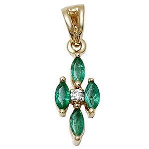 emerald pendant india, emerald pendant set, emerald diamond jewelry pendant