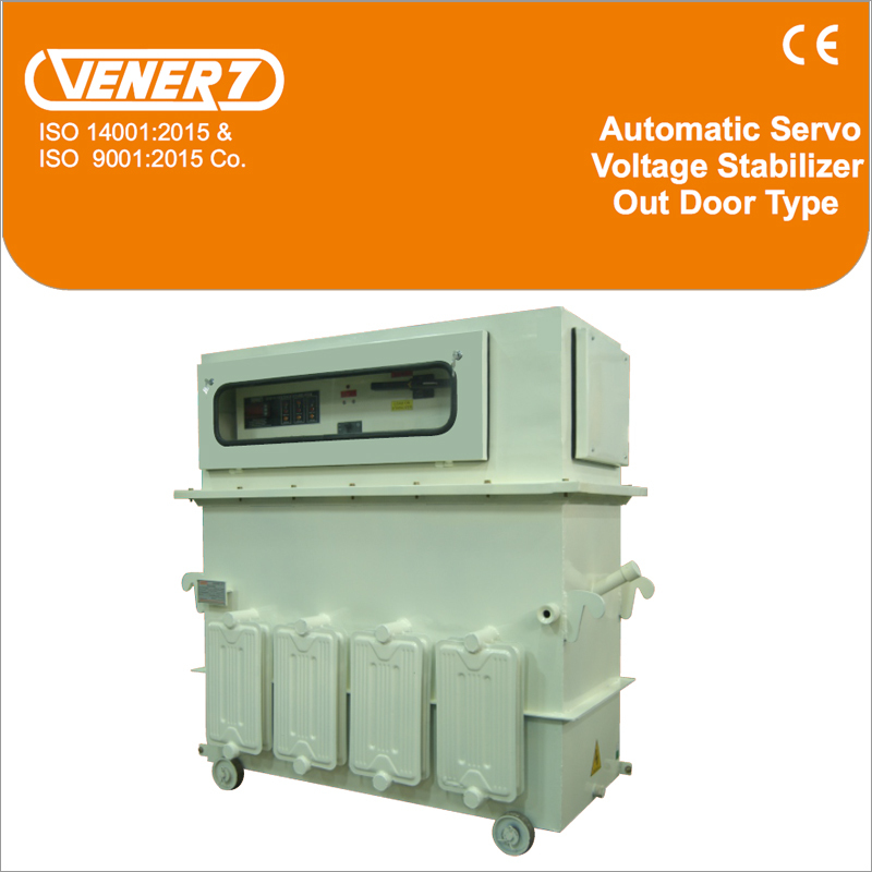 Three Phase Oil Cooled Servo Stabilizer Outdoor