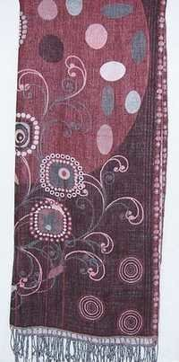 Wool Printed Cotton Designer Shawls