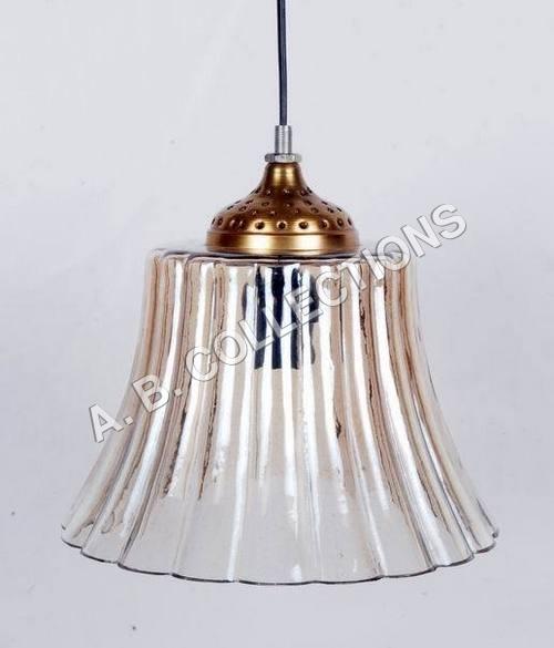 DESIGNER GLASS TAPPER LIGHT