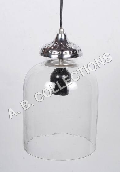 CYLINDER GLASS PENDANT LAMP