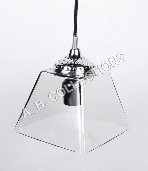 RECTANGLE GLASS PENDANT LIGHT