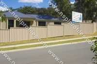 Color Coated Fencing