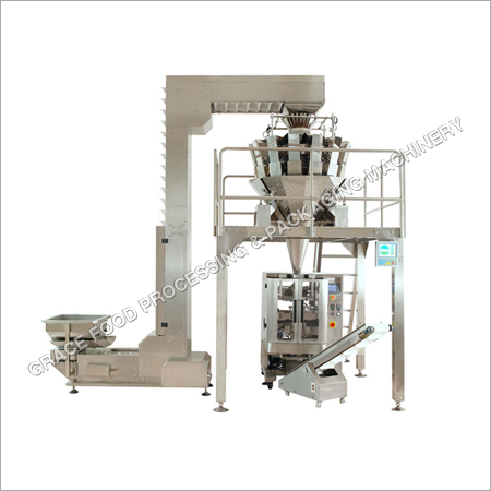 Multi Head Weigh Filler Collar Type Packaging Machine