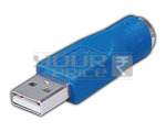 USB A Male To 6 Pin Mini Din Connector