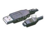 USB A Male TO Mini USB 04 Pin (HIROSE)