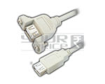 USB A Female to USB A Female Cord Moulded - 1.5 Meter.