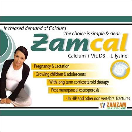 Zamcal Calcium Tablets